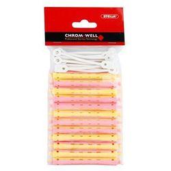 Chromwell Accessories Pink/Yellow lokówki do trwałej