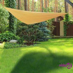 HI Żagiel ogrodowy, trójkątny, 3 x 3 m, beżowy (4034127623138)