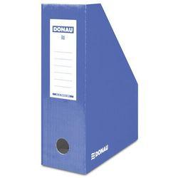 Pojemnik na dokumenty DONAU, karton, A4/100mm, lakierowany, niebieski