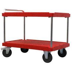 Unbekannt Wózek stołowy do dużych obciążeń,dł. x szer. 1200 x 800 mm, nośność 500 kg
