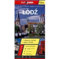 Łódź, Zgierz, Pabianice plan miasta 1:24 500, Daunpol