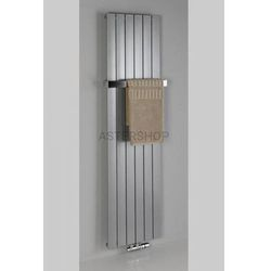 COLONNA grzejnik łazienkowy 298x1800mm stalowy metaliczny srebrny 614W IR143 (8590913831126)