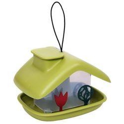 Karmnik plastikowy domek zielony, 07937