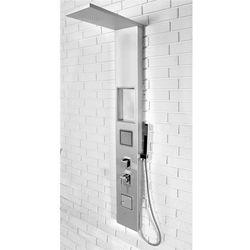 Rea Panel prysznicowy z półką 9765 srebrny