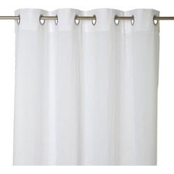Goodhome Firana mayna 140 x 260 cm biała