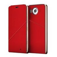 MOZO Notebook Flip Cover Lumia 950 True Red + WLC&NFC