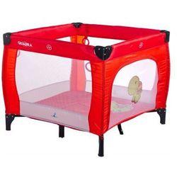 Hencztoys Caretero kojec quadra dla dzieci czerwony red, kategoria: kojce