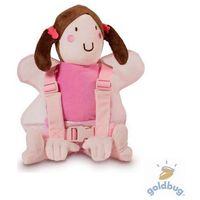 Goldbug  szelki i smycz dla dziecka z maskotką - wróżka (5060200670941)