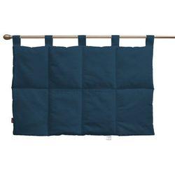 wezgłowie na szelkach, ocean blue (morski niebieski), 90 x 67 cm, cotton panama marki Dekoria
