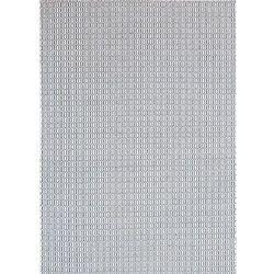 White oaks Dywan padlock grafit 170x240 cm - kremowy ||grafitowy