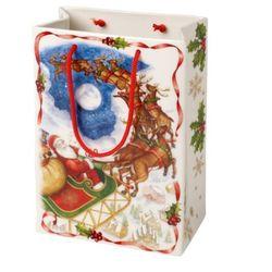 Villeroy & boch - toy's fantasy wazon torba prezentowa wymiary: 14,5 x 7,5 x 21 cm