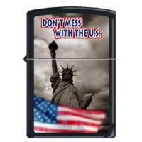 ZAPALNICZKA ZIPPO 7214 DON'T MESS WITH THE U.S