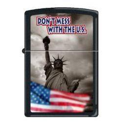 ZAPALNICZKA ZIPPO 7214 DON'T MESS WITH THE U.S z kategorii Zapalniczki