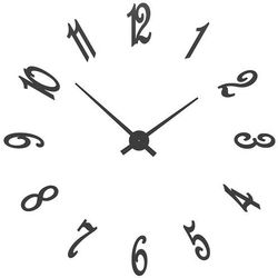 Zegar ścienny Brunelleschi CalleaDesign czarny
