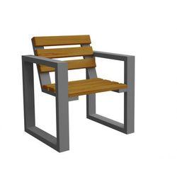 Fotel ogrodowy Norin Gray - 8 kolorów