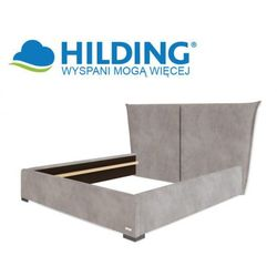 Łóżko tapicerowane LADYLIKE 115 - HILDING, Rozmiar - 200x200 cm, Tkanina - Grupa II, Nóżki - Drewniane -
