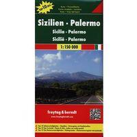Sycylia, Palermo 1:150 000. Mapa samochodowa, składana. Freytag&Berndt (9783707909623)