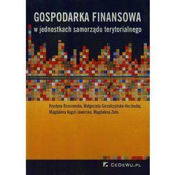 Gospodarka finansowa w jednostkach samorządu terytorialnego (ISBN 9788375566468)