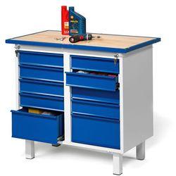 Aj produkty Stół warsztatowy flex, na nóżkach, 10 szuflad
