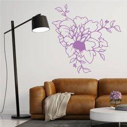 Szablon do malowania kwiat 2084 marki Wally - piękno dekoracji