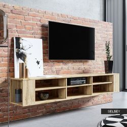 Selsey szafka rtv wall 175 cm (5903025536477)
