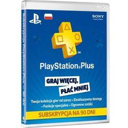 Karta Abonament Playstation Plus 90 dni (PS3, PS4, PS Vita) - Klucz, kup u jednego z partnerów