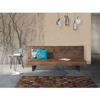 Luksusowa sofa kanapa DERBY brązowa, kolor brązowy