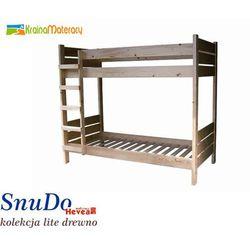 Łóżko Piętrowe SNUDO 190x90