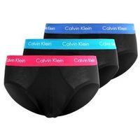 Calvin Klein Underwear 3 PACK Figi black, kolor czarny