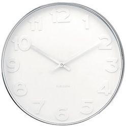 :: zegar ścienny mr. white numbers marki Karlsson