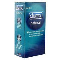 Prezerwatywy Durex Natural - Naturalne prezerwatywy Durex - 12szt.