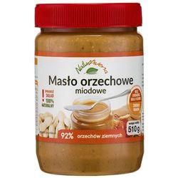 510g naturalne masło orzechowe miodowe od producenta Naturavena