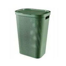 CURVER Kosz na bieliznę Infinity 60L recycled zielony - DARMOWA DOSTAWA OD 95 ZŁ!