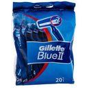 blue ii maszynka do golenia 1x20 szt dla mężczyzn marki Gillette