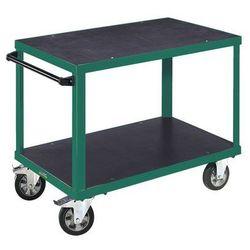 Wózek montażowy premium,2 powierzchnie ładunkowe ze sklejki antypoślizgowej marki Eurokraft