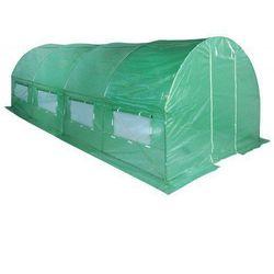 Tunel foliowy ogrodowy ogrodniczy szklarnia 2x4.5 m zielony uv5 marki Domogrodimy