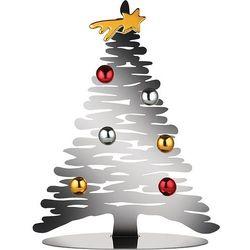 Alessi Dekoracja świąteczna bark for christmas srebrna (8003299429363)