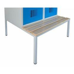 Podstawa z ławką stała do szafy socjalnej bhp p431w 1200mm marki Malow
