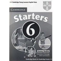 Cambridge Young Learners English Tests 6 Starters Answer Booklet, oprawa miękka