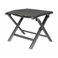 FLORABEST® Taboret stołek składany aluminium tapice