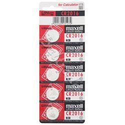 5 x bateria litowa Maxell CR2016, kup u jednego z partnerów