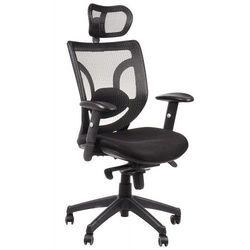 Stema - kb Fotel biurowy gabinetowy kb-8901/czarny - krzesło obrotowe