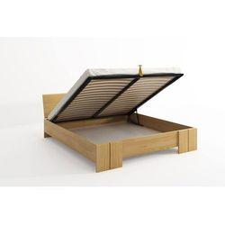 Łóżko drewniane sosnowe ze skrzynią na pościel VESTRE Maxi & ST 120-200x220