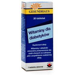 Witaminy dla diabetykow tabl. x 30 (lek preparaty na poziom cukru)