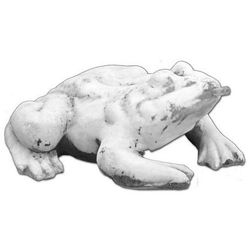 Figura ogrodowa betonowa Żaba 20cm