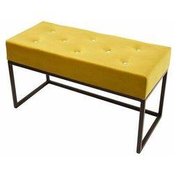Decoartimo Pufa glamour mała kardik żółta