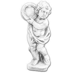 Figura ogrodowa betonowa Dziecko z Tamburynem 70cm