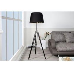 Lampa podłogowa Changes Black - Czarno-złoto-srebrny