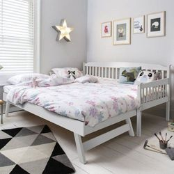 Łóżko drewniane 90x200 rozkładane model 1501 marki Meblemwm