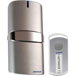 Dzwonek bezprzewodowy ORNO OR-DB-QH-108 230V z learning system POP AC Srebrny